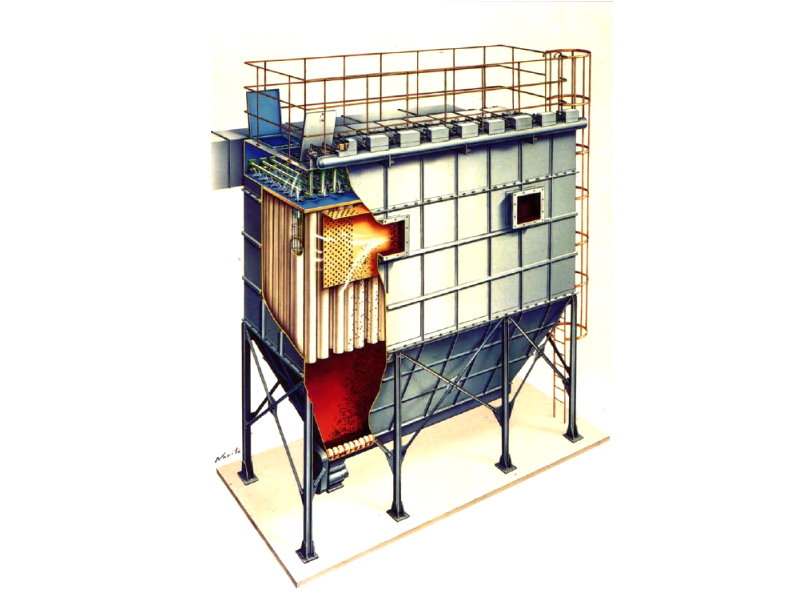 - Dry dust collector